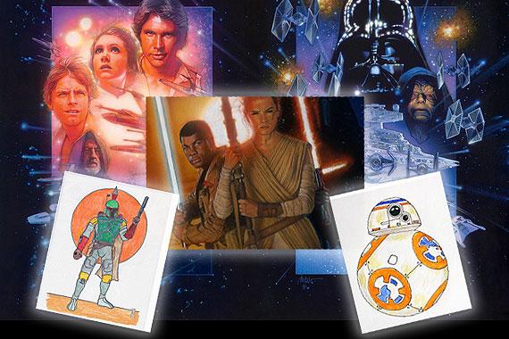 Star Wars Character Drawing