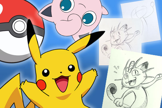 Pokemon Character Drawing